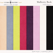 Mulberry Bush Solid Papers