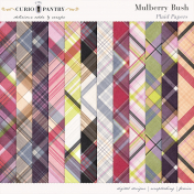 Mulberry Bush Plaid Papers