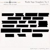 Washi Tape Templates No. 1