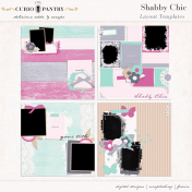Shabby Chic Layout Templates