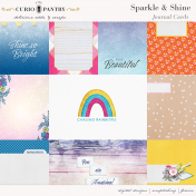 Sparkle and Shine Journal Cards