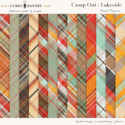 Camp Out: Lakeside Plaid Papers