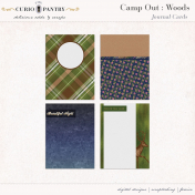 Camp Out: Woods Journal Cards