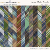 Camp Out: Woods Plaid Papers