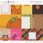 Sweet Autumn Journal Cards