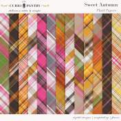 Sweet Autumn Plaid Papers