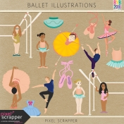 Ballet Illustrations Kit