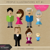 People Illustrations Kit #1