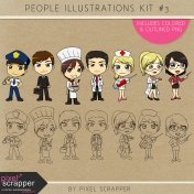 People Illustrations Kit #3
