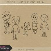 People Illustrations Kit #4
