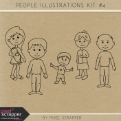 People Illustrations Kit #4