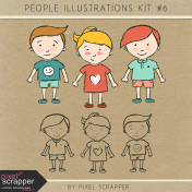 People Illustrations Kit #6