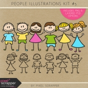 People Illustrations Kit #5