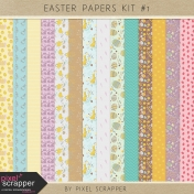 Easter Papers Kit #1