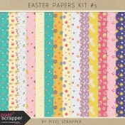 Easter Papers Kit #5