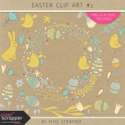 Easter Clip Art Kit #2