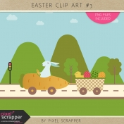Easter Clip Art Kit #3