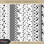 Easter Paper Templates Kit #3