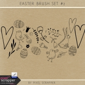 Easter Clip Art Kit #2 Brush Set