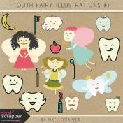 Tooth Fairy Illustrations Kit