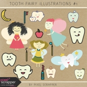 Tooth Fairy Illustrations Kit