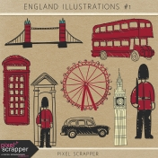 England Illustrations Kit #1