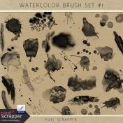 Watercolor Brush Set #1