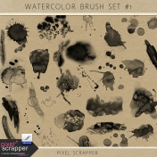 Watercolor Brush Set #1