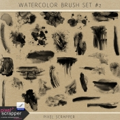 Watercolor Brush Kit #2