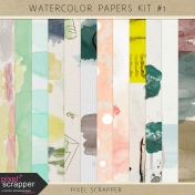 Watercolor Papers Kit #1