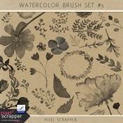 Watercolor Brush Kit #5
