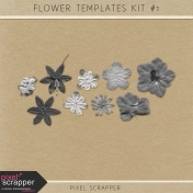 Flowers Kit #1 (Templates)