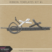 Ribbons Kit #1 (Templates)