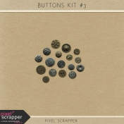 Buttons Kit #3 (Metal)