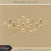 Mah Jong Tiles Kit