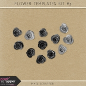 Flower Templates Kit #3