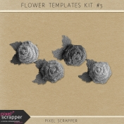 Flower Templates Kit #5