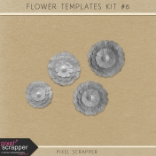Flower Templates Kit #6