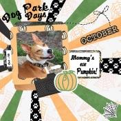Happy Halloween- Dog Park Days