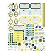 Reflections at Night Planner Stickers