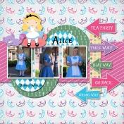 Alice in DisneyWorld