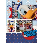 Donald Duck Photo Shoot