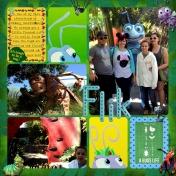 Flik & It's Tough to be a Bug @ Disney California