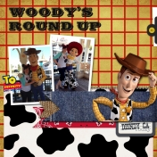 Woody's Round UP- Disney California