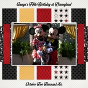 Amaya's 5th Birthday at Disneyland