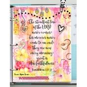 Steadfast Love Bible Journaling