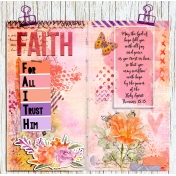 Faith Travelers Notebook