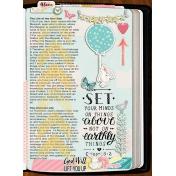 Things Above Bible Journaling