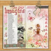 I can Only Imagine: Worship Songs Travelers Notebook