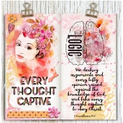 Bible Journaling Take Every Thought Captive